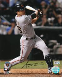 "Andrés Torres San Francisco Giants Autographed 8"" x 10"" Photograph - Mounted Memories"