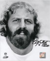 Andy Frederick Chicago Bears Autographed 8'' x 10'' Face Shot Photograph with SB XX Champs Inscription - Mounted Memories
