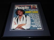Andy Gibb Framed ORIGINAL Vintage 1988 People Magazine Cover Bee Gees