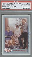 ANDY GRIFFITH - Autographed Signed - PSA / DNA - 1990
