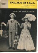 Andy Griffith Dolores Gray Art Lund Jack Prince Destry Rides Again 1959 Playbill