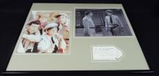 Andy Griffith & Jim Nabors Dual Signed Framed 16x20 Photo Set JSA