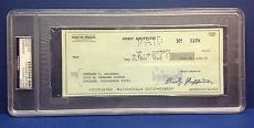 Andy Griffith signed Cancelled Check Slabbed PSA/DNA # 83770508