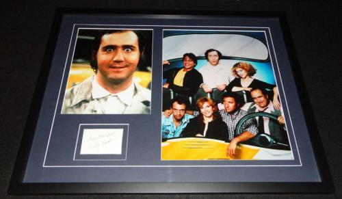 Andy Kaufman Signed Framed 18x24 Photo Display AW Taxi