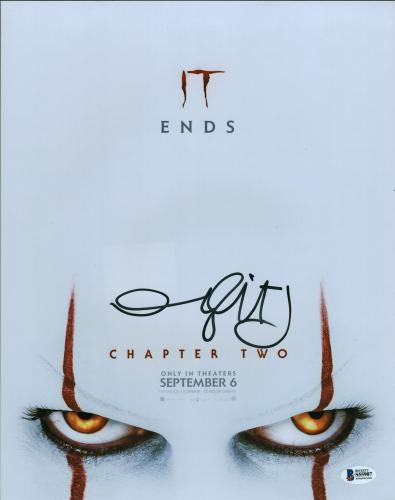 Andy Muschetti IT Chapter Two Signed 11x14 Photo BAS #S55987