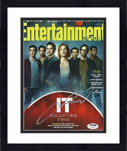 Andy Muschietti Signed Stephen King's 'It' Entertainment Weekly Magazine PSA 880