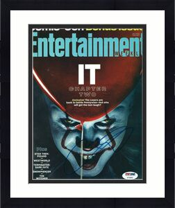 Andy Muschietti Signed Stephen King's 'It' Entertainment Weekly Magazine PSA 882