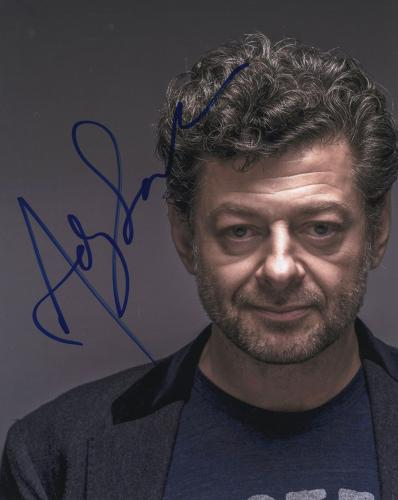 Andy Serkis Autographed Gollum The Hobbit The Lord Of The Rings Photo LOTR
