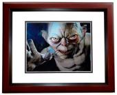 Andy Serkis Signed - Autographed LORD OF THE RINGS 8x10 inch Photo MAHOGANY CUSTOM FRAME - Guaranteed to pass PSA or JSA - Precious