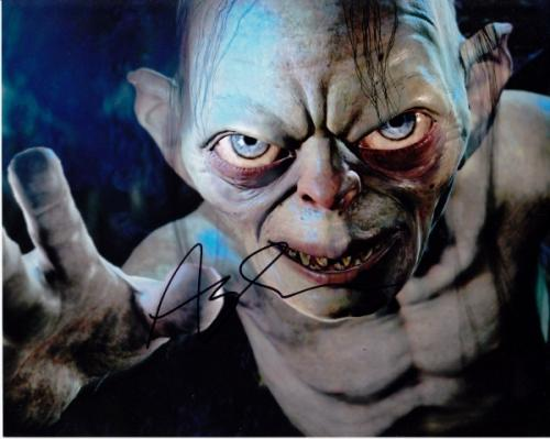 Andy Serkis Signed - Autographed LORD OF THE RINGS 8x10 inch Photo - Guaranteed to pass PSA or JSA - Precious