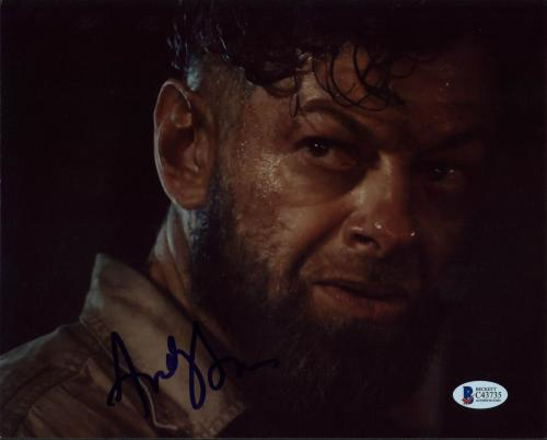 Andy Serkis Avengers Age of Ultron Signed 8x10 Photo BAS #C43735