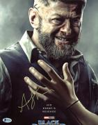 Andy Serkis Black Panther Signed 11x14 Photo Autographed BAS #D86436