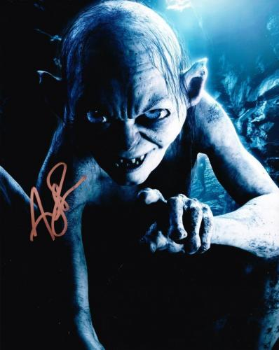 Andy Serkis Signed 8x10 Photo Authentic Autograph Lord Of The Rings Coa B