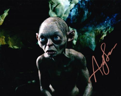 Andy Serkis Signed 8x10 Photo Authentic Autograph Lord Of The Rings Coa C