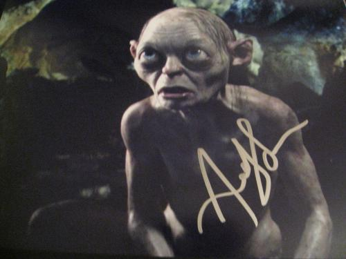 ANDY SERKIS SIGNED AUTOGRAPH 8x10 LORD OF THE RINGS THE HOBBIT GOLLUM PROMO E