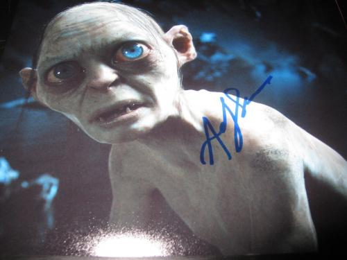 ANDY SERKIS SIGNED AUTOGRAPH 8x10 PHOTO DAWN OF THE PLANET OF THE APES PROMO D