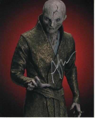 Andy Serkis Signed Autograph 8x10 Photo Star Wars Supreme Leader Snoke, Gollum 2