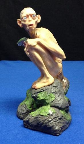 Andy Serkis Signed Gollum Figure Lord of The Rings PSA/DNA  #Z36685
