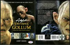 Andy Serkis SIGNED Lord of the Rings Gollum 1st Ed 1st Print PSA/DNA AUTOGRAPHED