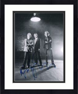 ANDY SUMMERS SIGNED AUTOGRAPHED 11x14 PHOTO - THE POLICE: STING STEWART COPELAND