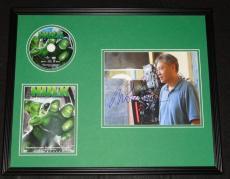 Ang Lee Signed Framed 16x20 Hulk DVD & Photo Display AW