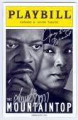 Angela Bassett and Samuel L. Jackson autographed Broadway Playbill (The Mountain Top)