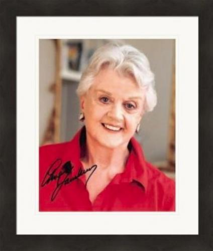 Angela Landsbury autographed 8x10 photo (Murder She Wrote) #SC1 Matted & Framed