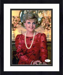 ANGELA LANSBURY HAND SIGNED 8x10 PHOTO    LOVELY POSE    MURDER SHE WROTE    JSA