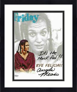 "Angela Means Signed 8x10 Photo ""It's the Mack Fool!"" Friday Felicia BECKETT COA"