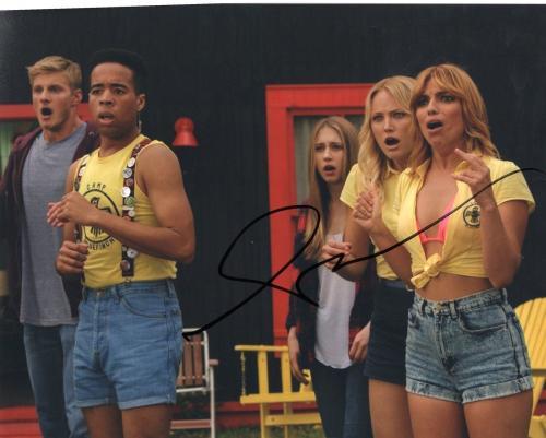 Angela Trimbur signed The Final Girls Halloween 8x10 Photo w/COA #3