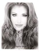 Angelica Bridges-signed photo - pose 2