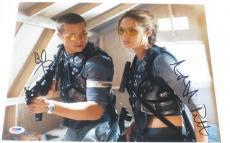 Angelina Jolie Brad Pitt Signed 11x14 Photo Authentic Autograph Psa/dna B
