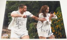 Angelina Jolie Brad Pitt Signed 11x14 Photo Authentic Autograph Psa/dna Loa