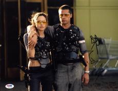 Angelina Jolie Brad Pitt SIGNED 11x14 Photo Mr. & Mrs. Smith FULL LETTER PSA/DNA