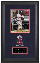 "Los Angeles Angels of Anaheim Deluxe 8"" x 10"" Team Logo Frame - Mounted Memories"