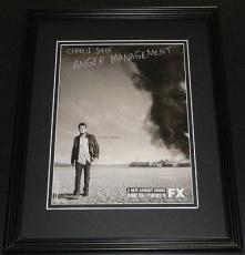 Anger Management 2012 Framed ORIGINAL 11x14 Vintage Advertisement Charlie Sheen