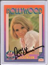 Angie Dickinson Signed Starline Hollywood card