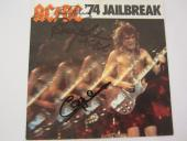 Angus Young AC DC signed autographed music cd 3 total signatures JSA COA