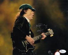 Angus Young AC/DC Autographed Signed 8x10 Photograph (JSA) RARE!