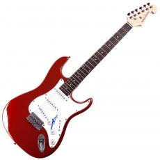 Angus Young AcDc Autographed Signed Red Guitar UACC RD COA AFTAL