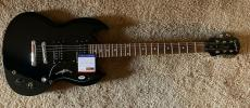 Angus Young AC/DC Signed Autographed Guitar Epiphone SG Special PSA Certified