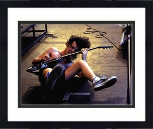 Angus Young Autographed Signed 11x14 Crazy Poster Photo UACC RD COA AFTAL