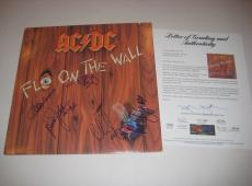 ANGUS YOUNG MALCOLM YOUNG + 3 Signed AC/DC Album w/ PSA COA GRADED 10 - COMPLETE