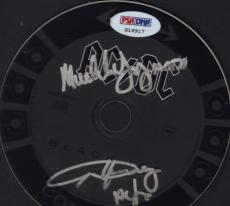 Angus Young & Malcolm Young Ac/dc Signed Autographed Cd Psa/dna S16917