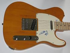 ANGUS YOUNG of AC/DC AC DC Signed FENDER TELECASTER GUITAR w/ Psa Dna Coa