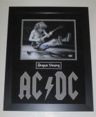 Angus Young Signed 11x14 Photo Ac/dc Authentic Autograph Psa/dna X55101 Coa