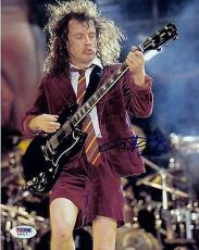 Angus Young Signed 8x10 Photo w/PSA DNA AC/DC Back in Black #2