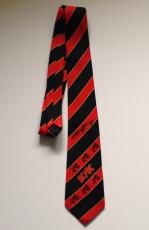 ANGUS YOUNG Signed AC/DC AC DC Logo NECKTIE w/ PSA DNA & Photo