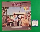 """Angus Young Signed Ac/dc """"dirty Deeds Done Dirt Cheap"""" Lp Album Beckett Bas Coa"""