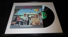 Angus Young Signed Framed 1976 AC/DC Dirty Deeds Record Album Display